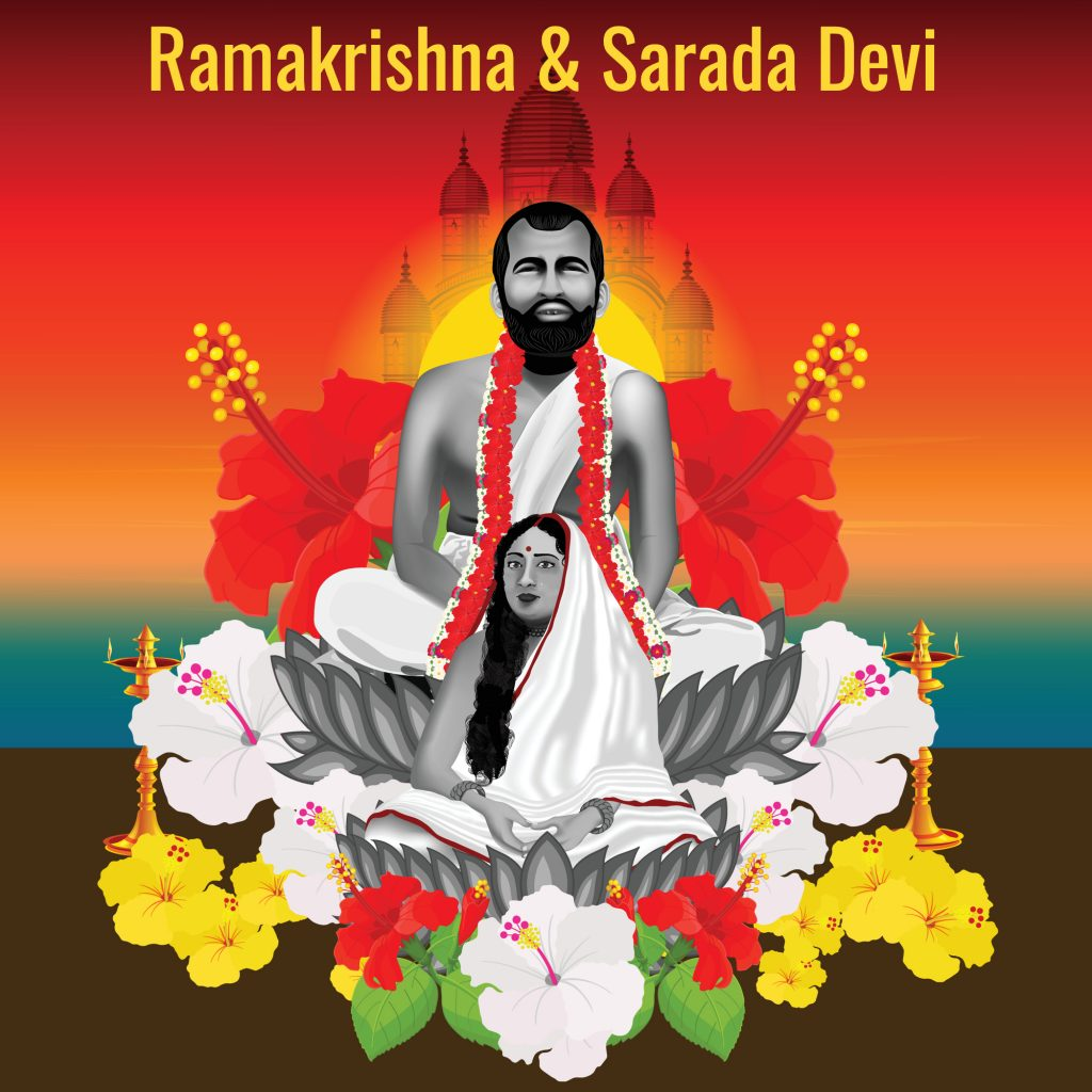 Ramakrishna & Sarada Devi: Spiritual Ecstasy, Love And Vedanta