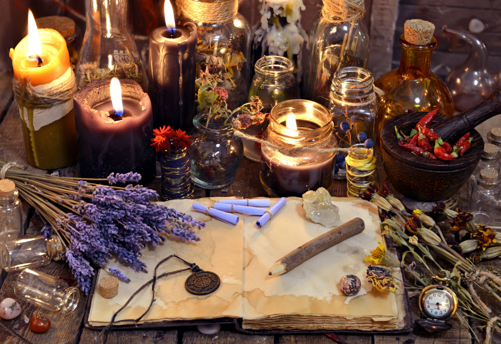 Gemstones, Essential Oils & More: The Joys & Benefits Of Home-Style Alchemy