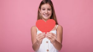 girl vulnerable heart - shutterstock_1578826270